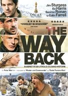The Way Back - Danish DVD cover (xs thumbnail)