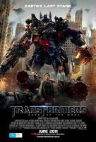 Transformers: Dark of the Moon - Australian Movie Poster (xs thumbnail)