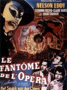 Phantom of the Opera - Belgian Movie Poster (xs thumbnail)