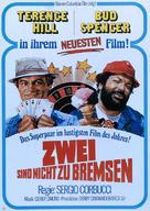 Pari e dispari - German Movie Poster (xs thumbnail)