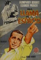 Chain Lightning - Spanish Movie Poster (xs thumbnail)