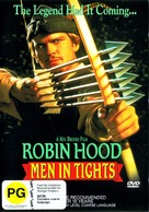 Robin Hood: Men in Tights - New Zealand DVD cover (xs thumbnail)