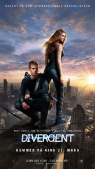 Divergent - Norwegian Movie Poster (xs thumbnail)
