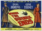 Where the Sidewalk Ends - British Movie Poster (xs thumbnail)
