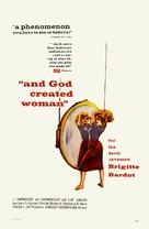 Et Dieu... créa la femme - Movie Poster (xs thumbnail)