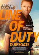 Line of Duty - Portuguese Movie Poster (xs thumbnail)