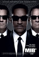 Men in Black 3 - Turkish Movie Poster (xs thumbnail)