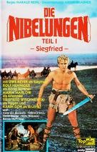Die Nibelungen, Teil 1: Siegfried - German VHS cover (xs thumbnail)