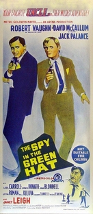 The Spy in the Green Hat - Australian Movie Poster (xs thumbnail)
