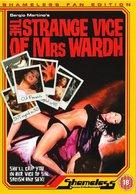 La strano vizio della Signora Wardh - British DVD cover (xs thumbnail)