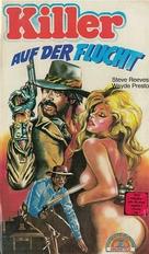 Vivo per la tua morte - German VHS cover (xs thumbnail)