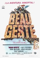 Beau Geste - Spanish Movie Poster (xs thumbnail)