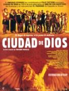 Cidade de Deus - Spanish Movie Poster (xs thumbnail)