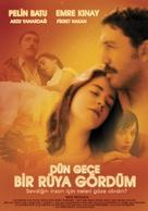 Dün gece bir rüya gördüm - Turkish Movie Poster (xs thumbnail)