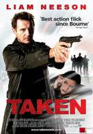 Taken - New Zealand Movie Poster (xs thumbnail)