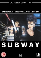 Subway - British DVD movie cover (xs thumbnail)