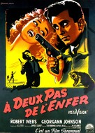 Short Cut to Hell - French Movie Poster (xs thumbnail)