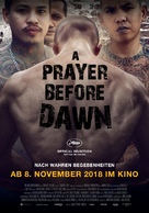 A Prayer Before Dawn - German Movie Poster (xs thumbnail)