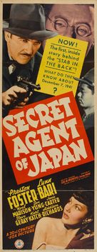 Secret Agent of Japan - Movie Poster (xs thumbnail)