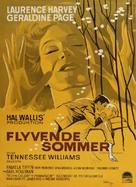 Summer and Smoke - Danish Movie Poster (xs thumbnail)