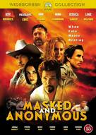 Masked And Anonymous - Danish DVD movie cover (xs thumbnail)