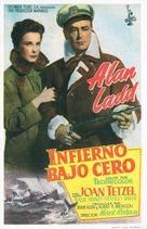 Hell Below Zero - Spanish Movie Poster (xs thumbnail)