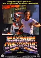 Maximum Overdrive - Spanish Movie Poster (xs thumbnail)