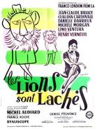 Les lions sont lâchés - French Movie Poster (xs thumbnail)