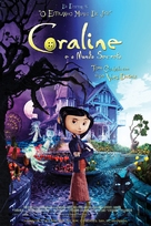 Coraline - Brazilian Movie Poster (xs thumbnail)