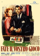 Any Number Can Play - Italian Movie Poster (xs thumbnail)
