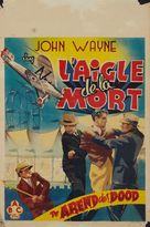 The Shadow of the Eagle - Belgian Movie Poster (xs thumbnail)