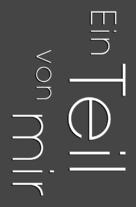 Ein Teil von mir - German Logo (xs thumbnail)