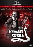 Die schwarze Kobra - German Movie Cover (xs thumbnail)