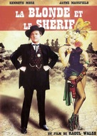The Sheriff of Fractured Jaw - French DVD cover (xs thumbnail)