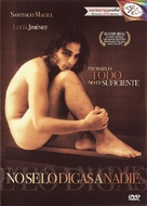 No se lo digas a nadie - Chilean DVD cover (xs thumbnail)