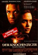 The Bone Collector - German Movie Poster (xs thumbnail)
