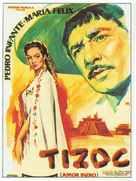 Tizoc - Spanish Movie Poster (xs thumbnail)