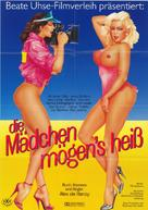 Girlfriends - German Movie Poster (xs thumbnail)