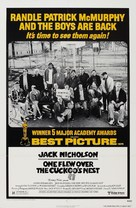 One Flew Over the Cuckoo's Nest - Re-release movie poster (xs thumbnail)