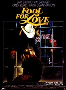 Fool for Love - French Movie Poster (xs thumbnail)