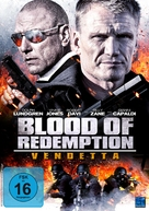 Blood of Redemption - German DVD movie cover (xs thumbnail)