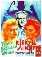 Dr. Jekyll and Mr. Hyde - French Movie Poster (xs thumbnail)