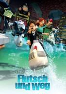 Flushed Away - German Movie Poster (xs thumbnail)