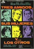 Vincent, François, Paul... et les autres - Spanish Movie Poster (xs thumbnail)