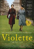 Violette - Swedish Movie Poster (xs thumbnail)