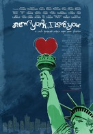 New York, I Love You - Portuguese Movie Poster (xs thumbnail)