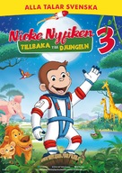 Curious George 3: Back to the Jungle - Swedish Movie Poster (xs thumbnail)