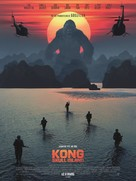 Kong: Skull Island - French Movie Poster (xs thumbnail)