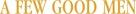 A Few Good Men - Logo (xs thumbnail)