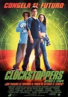 Clockstoppers - Spanish Movie Poster (xs thumbnail)
